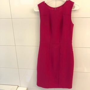 NWOT Banana Republic Sheath Magenta Dress - Size 2